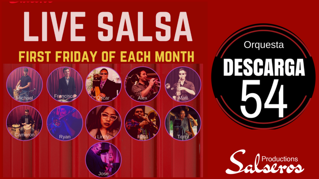Live Salsa Every First Friday