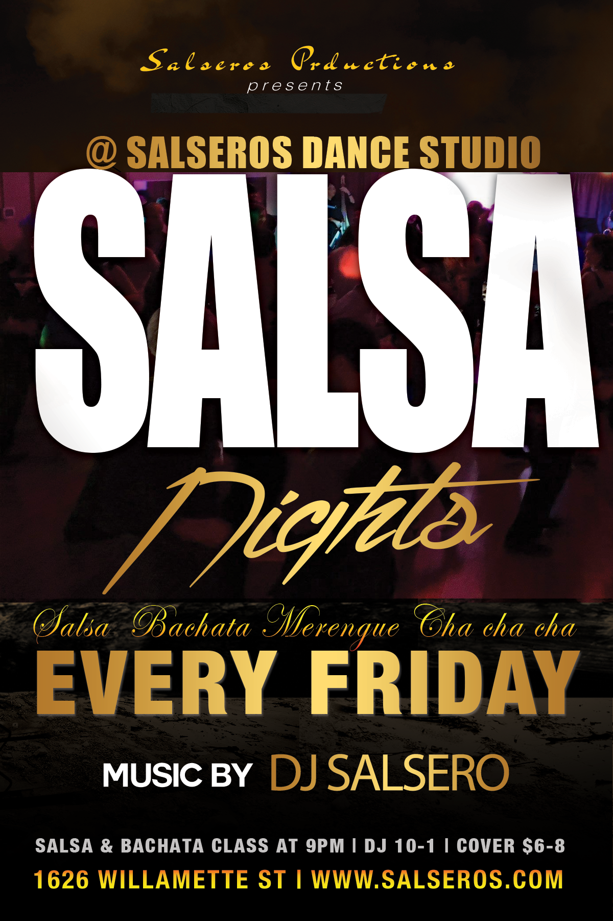 Salsa Night Every Friday